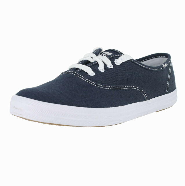 Shoes Blue Keds Champion Wf34200 Navy Canvas Casual Womens Sneakers N0kw8OXnPZ