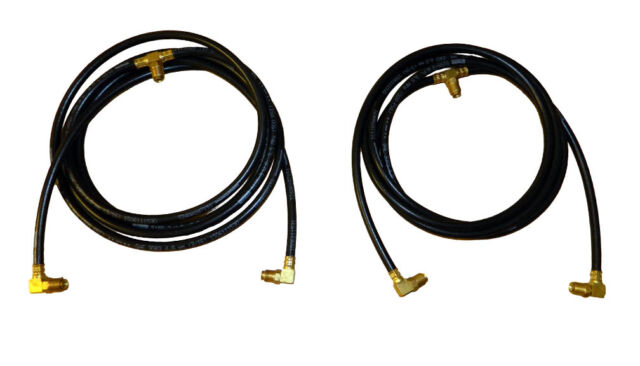 1957-1963 Chrysler Imperial Convertible Top Hose Set Complete