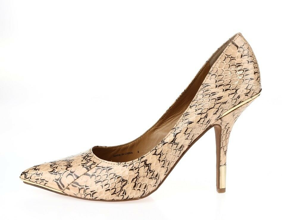divertiti con uno sconto del 30-50% donna donna donna DOLCE VITA snake print leather pumps scarpe sz. 8 NEW   vanno a ruba
