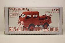 KIT RENAULT 4X4 POMPIERS VIR 1001B WESPE MODELS 1/35 NEUF EN BOITE