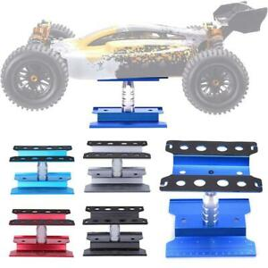 Car-Stand-Repair-Workstation-Aluminum-Alloy-360-Degree-Holder-for-1-8-1-10-RC