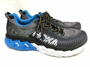 HOKA ONE ONE Arahi 2 Men Tennis running shoes Black Charcoal Grey ... 7fe44029855