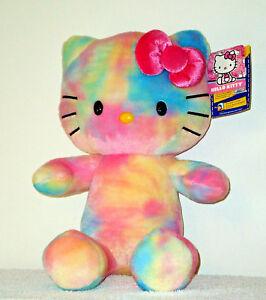 50af7f7fa Build a Bear Hello Kitty Pastel Watercolor Teddy 18in. Tie Dye HK ...