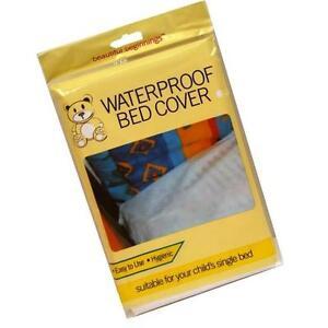 Waterproof Bed Sheet Single Childs Baby Adult Mattress Cot