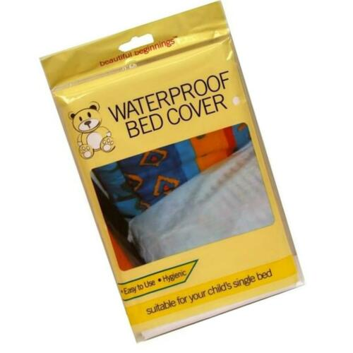 WATERPROOF CHILD BED SHEET COVER SINGLE MATTRESS PROTECTOR PLASTIC KID WETTING