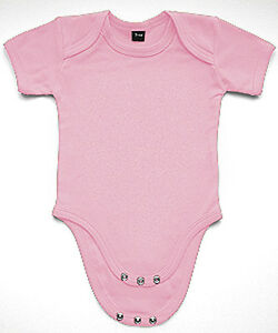Baby-Strampler-Bodysuit-Babybugz-rosa-pink-rose-Maedchen-Baumwolle-0-18-Monate