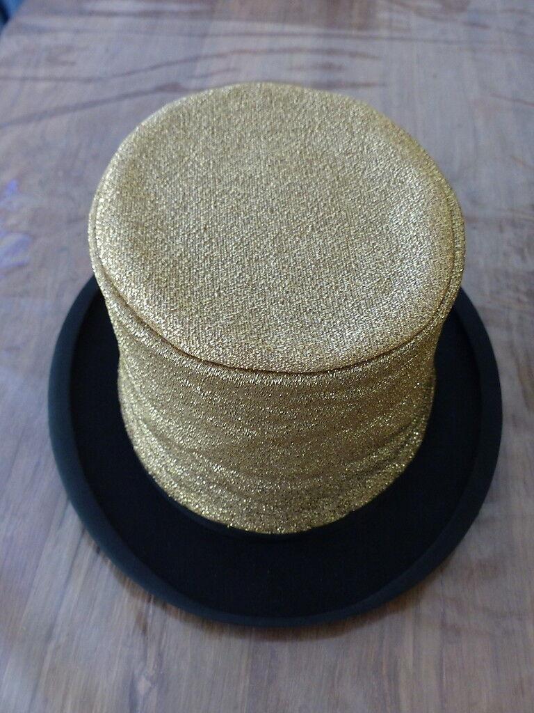 Chapeau claque, Gold, absolute Rarität     | | | Gemäßigten Kosten  a25c52