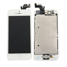 Full Button w/LCD Touch Digitizer Screen Assembly A1428 A1429 for iPhone 5 White
