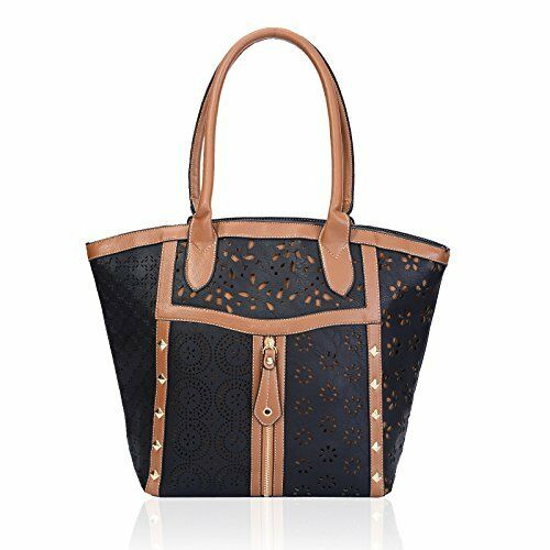 Bag Fashion Messenger Tote Handbag Womens Shoulder Cut Laser Ladies Purse 8CqgwZf