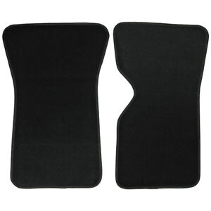 UAA Custom-fit Black Carpet Car Floor Mats Set for Chevy Corvette 1968-1982