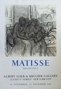 Henri-Matisse-Matisse-Drawings-Poster-Lithographic-Signed-Mourlot