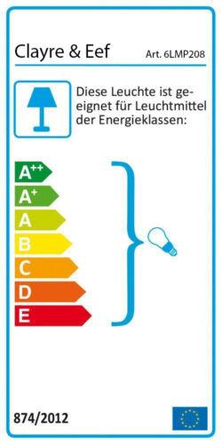 Clayre /& Eef Tischleuchte Lampe Käfig Metall Betonoptik Grau Landhaus 6LMP208