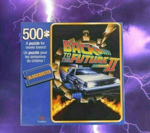 New Blockbuster Back To The Future II 500 Piece Puzzle Cardinal 11 x 14 inch