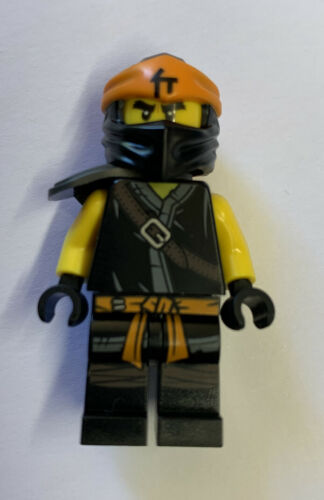 Lego Original Minifig Ninjago Cole Secrets of the Forbidden Spinjitzu NEW