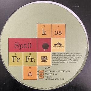 K-OS-SUPERSTARR-PT-ZERO-FREEZE-NEUTRONIKS-12-034-2003-RARE
