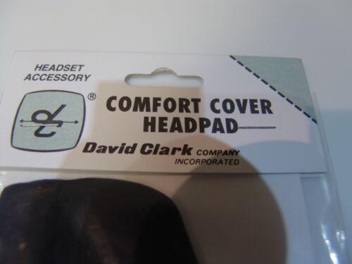 GENUINE DAVID CLARK HEAD PAD COVER  p//n 18981G-01
