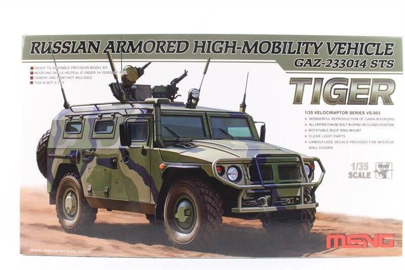 mäng modellllerlerl VS -3 35 e ryska GAZ -233014 Tiger Beväpnade fordon med hög rörlighet