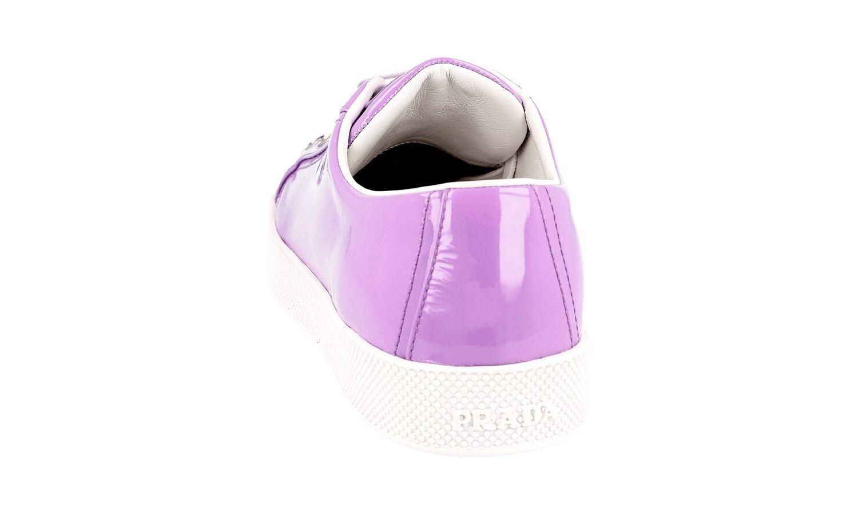 Auténtico de lujo Prada Tenis Zapatos 3E6202 púrpurata 37 Nuevo nos 7 EU 37 púrpurata 37,5 2c2a96