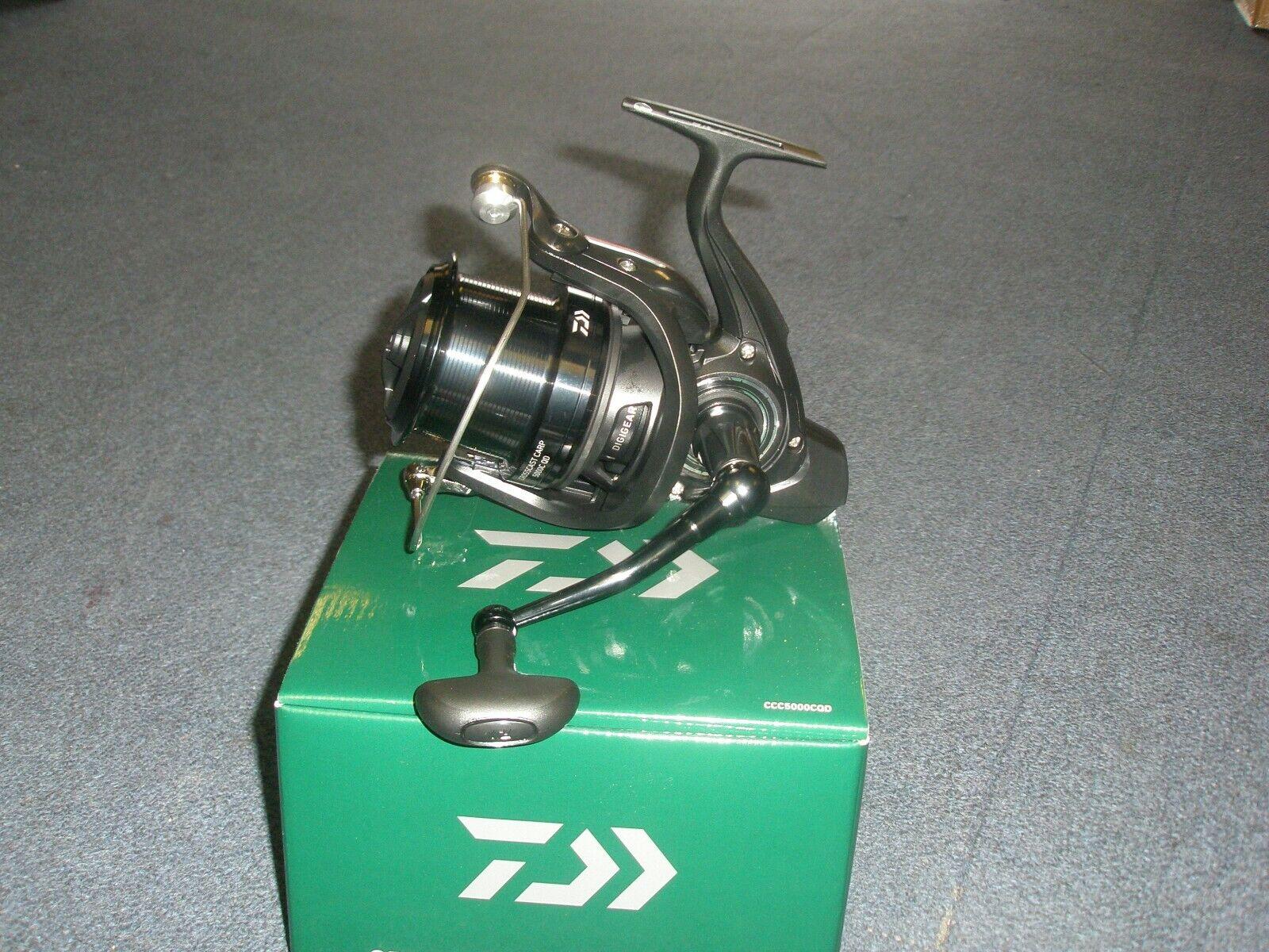 Daiwa Crosscast Carp 5000 C QD Big Pit fishing reel