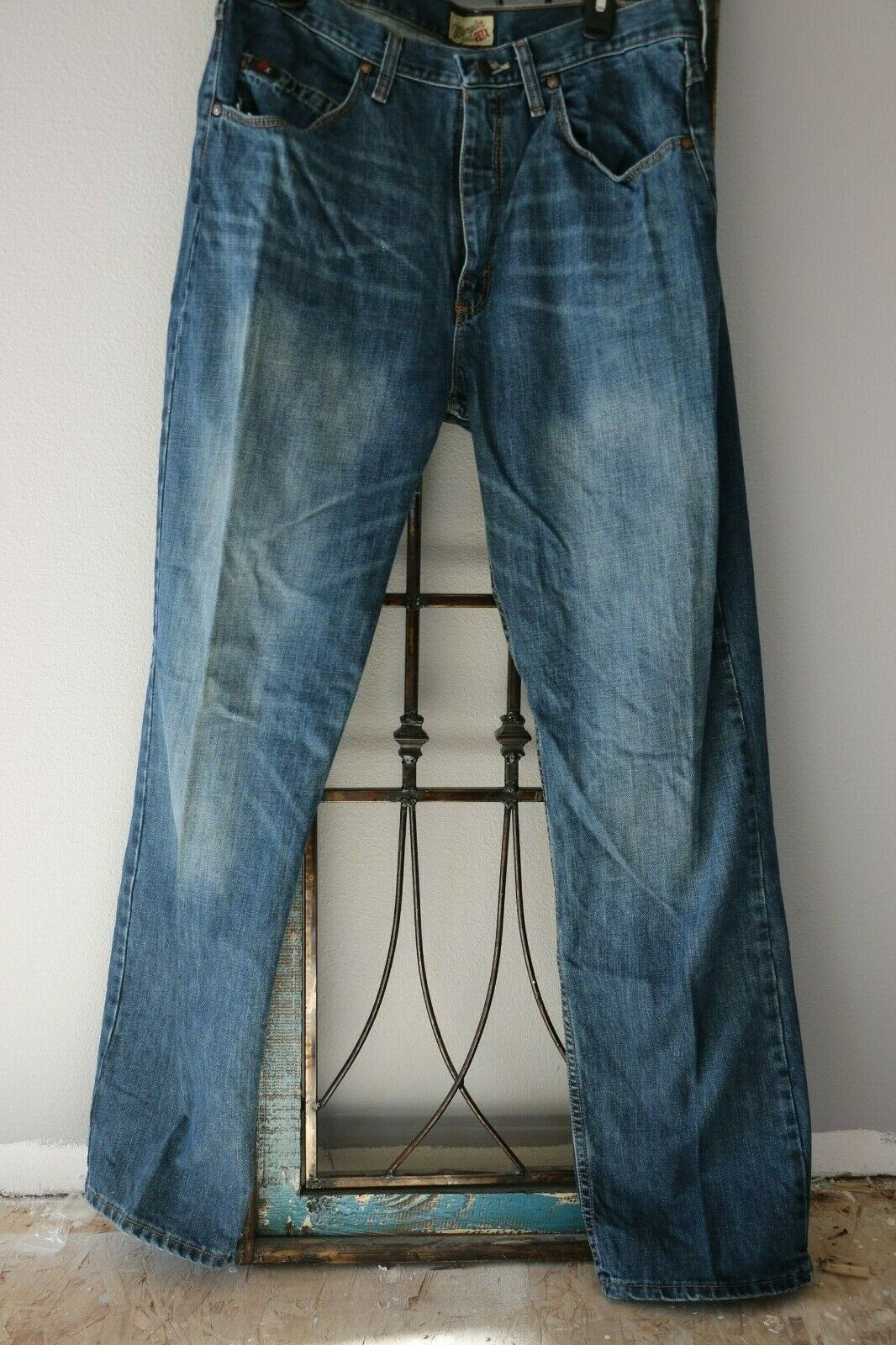 Wrangler 20X Men's Denim Jeans - Size 35 x 36