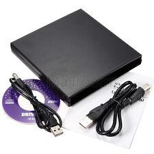 USB IDE Notebook CD DVD RW Burner ROM Auto Esterno Case Enclosure Drive