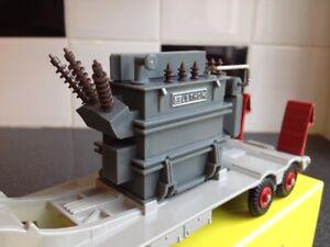 Raro-Dinky Supertoys 908/Dan Juguetes 833 Mighty Antar Transformador Load-Excelente!