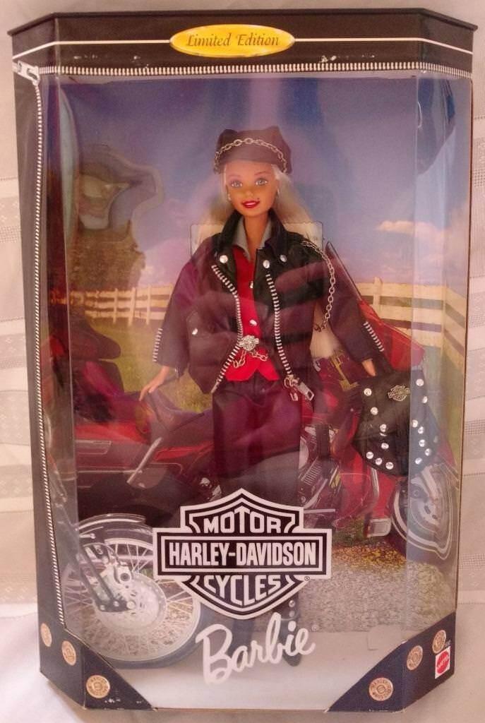 1997 Barbie Harley Davidson Edición limitada en primera serie Toys R Us