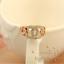 New-18K-Gold-Rose-Gold-GF-Crystal-Hoops-Wedding-Engagement-Ring-Stunning-Gift thumbnail 2