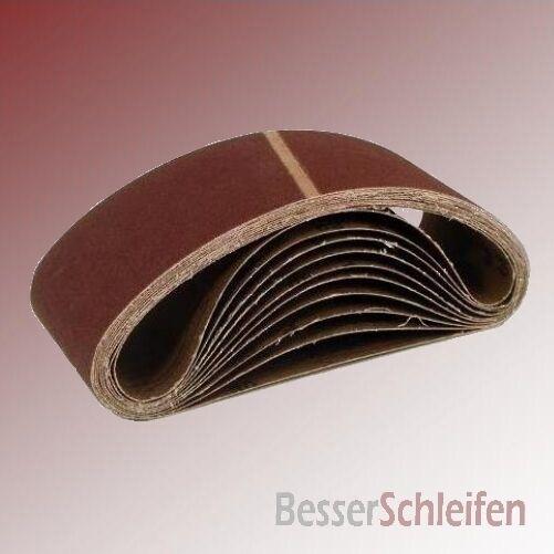 100 Schleifbänder Schleifband 40x303 mm Körnung P120 Gewebebasis (Bosch)