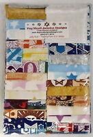 Jewish Judaica Fabric Jelly Roll
