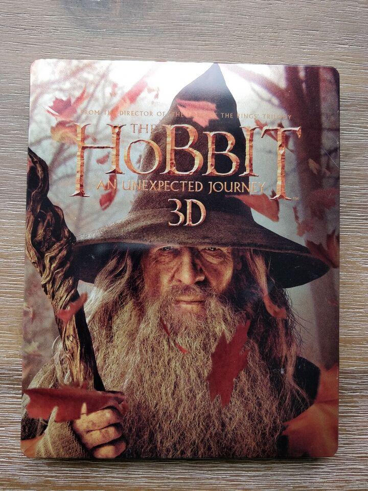 The Hobbit, instruktør Peter Jackson, Blu-ray