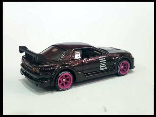 tires long axle fit Tomica Hot Wheels diecast 5 sets 1:64 Comold Purple rims