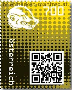 Crypto-Stamp-2-0-Honigdachs-GELB-Postfrisch-AUSVERKAUFT