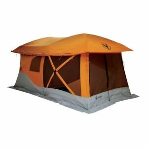 separation shoes 3d979 858d5 Details about 26800 NEW HUGE Gazelle Family Party Camping Tent Screened  Canopy Gazebo Porch
