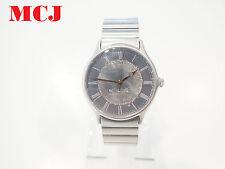 'Authentic' Georg Jensen Men's Stainless Steel Watch With Grey Dial Quartz
