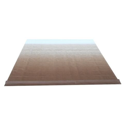 ALEKO Vinyl Fabric Replacement 10X8 ft For RV Awning Brown Fade Color