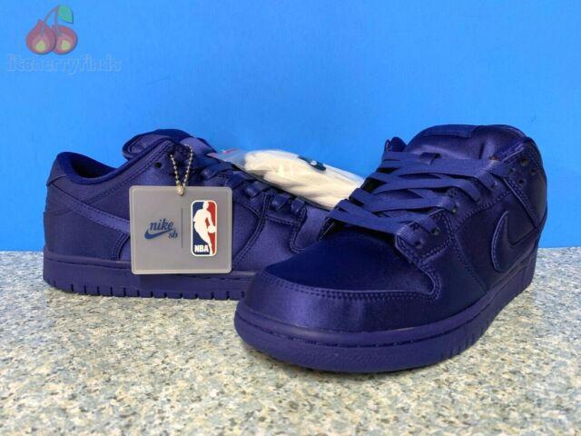 low cost f74c3 3f7e9 Nike SB Dunk Low TRD X NBA Royal Blue Ar1577-446 Men's Size 9 US
