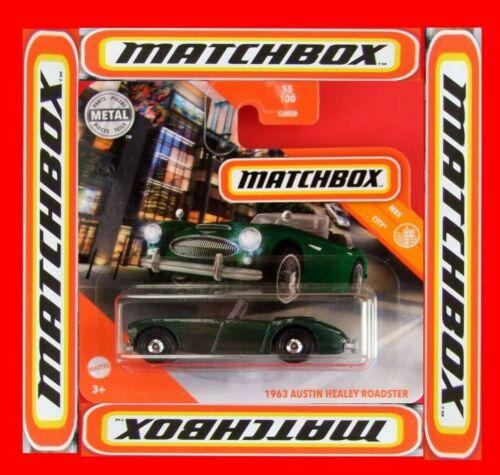 MATCHBOX 2020   1963  AUSTIN HEALEY  ROADSTER   55//100   NEU/&OVP