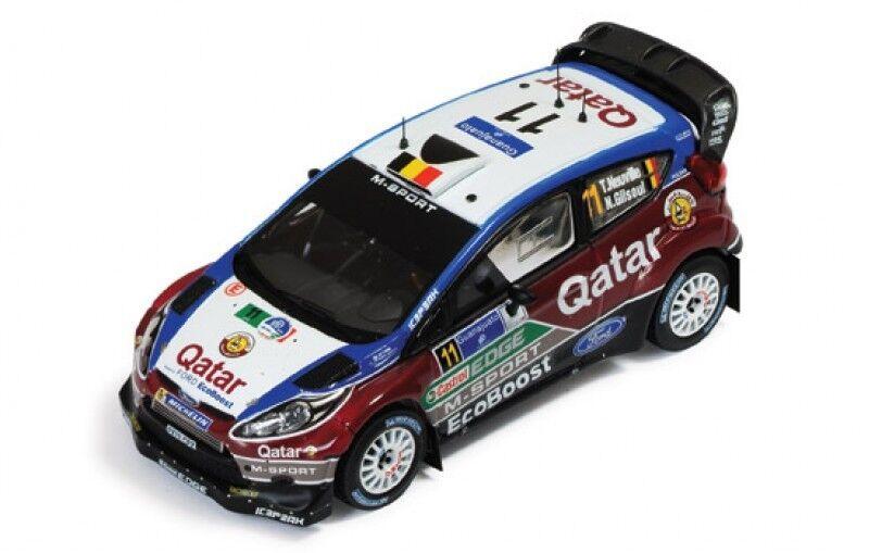 1 43 FORD FIESTA RS WRC QATAR Rally Mexique 2013 T. NEUVILLE