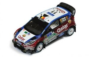 Ixo 1:43 Ford Fiesta RS WRC-Neuville//gilsoul-Rally Italy 2013