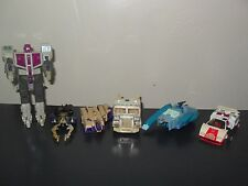 transformers g1 parts lot red alert blurr shrapnel blitzwing ultra magnus