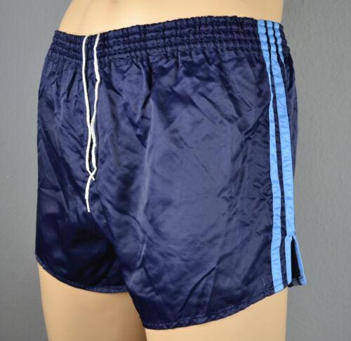 fonc de court Pantalon nylon en Short brillant bleu Adidas sport vintage WwSB1Fvqn