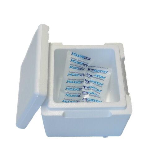 styroporbox Glacière Boîte thermos et Boîte isolée 3,5L 225x225x195 mm