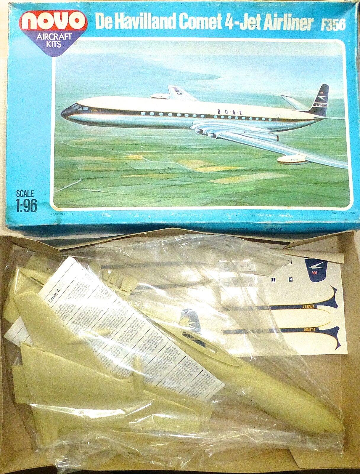 Havilland 4 Jet Airliner F356 Novo Aircraft Kits 1 96 Rebuilt Kit Å