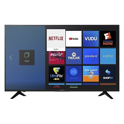"HDR Smart LED TV Sharp 50/"" Class 4K Ultra HD 2160p LC-50Q7030U Free Shipping"