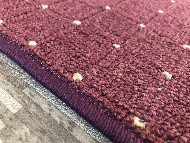 Teppich Teppich Teppich Schlinge Point Teppich   Läufer in 4 Farben, Wohnraumteppich   Bunt,  4375ab