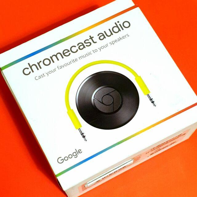 Google Chromecast Audio. Black *AUS STOCK, FACTORY SEALED & BRAND NEW*