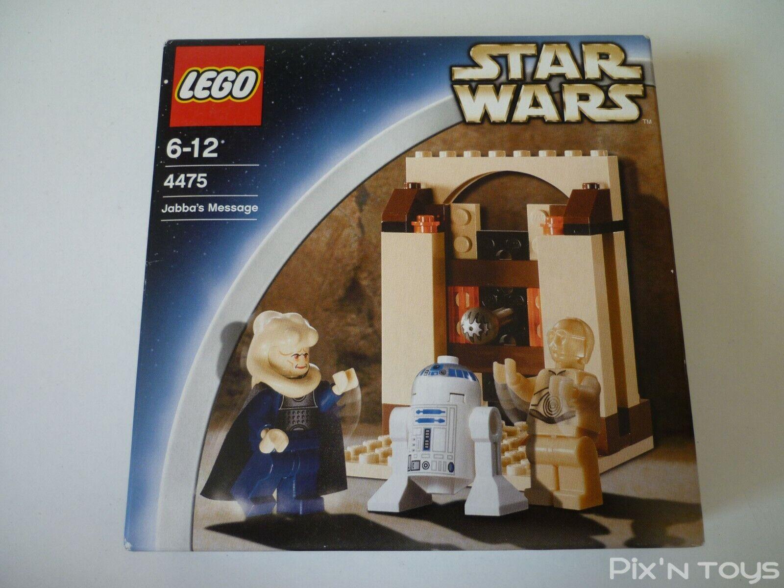 Lego Stern Wars 4475 Jabba's Message