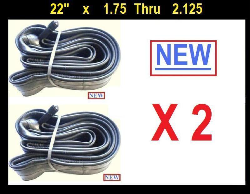22  Bicycle Bike Cycle Inner Tube 22 x 1.75 - 2.125  x2
