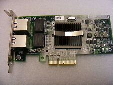 DualPort Gigabit 1000 NIC PCI-E Low Profile HP DELL IBM NC360T 412646-001 0X3959